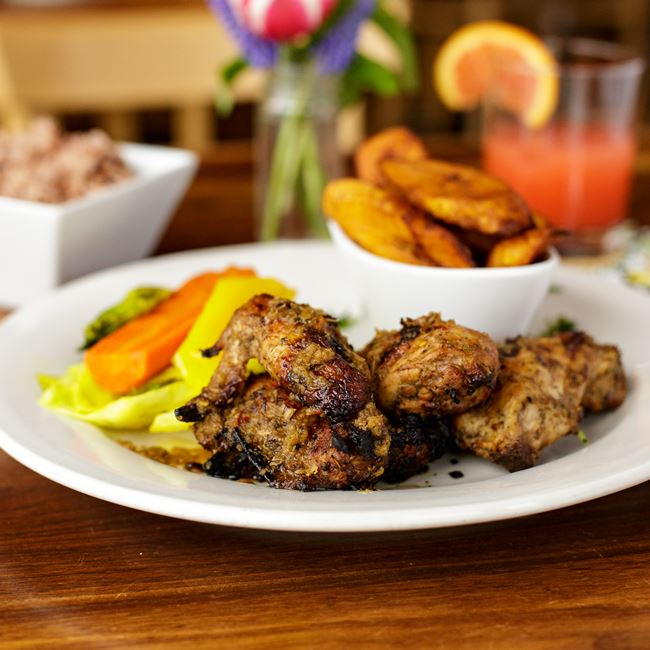 The Ultimate Jerk Chicken at Irie Zulu