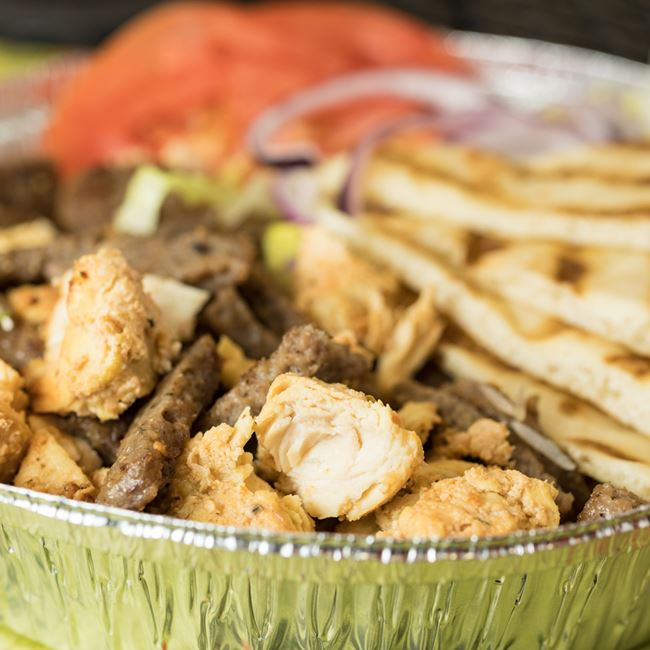 Chicken & Lamb Combo Platter