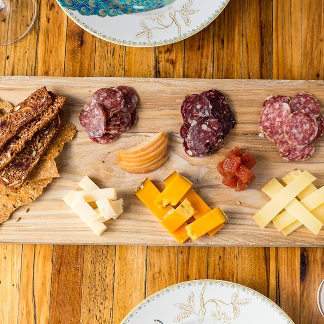 Cheese and Charcuterie Plate at Bavette La Boucherie