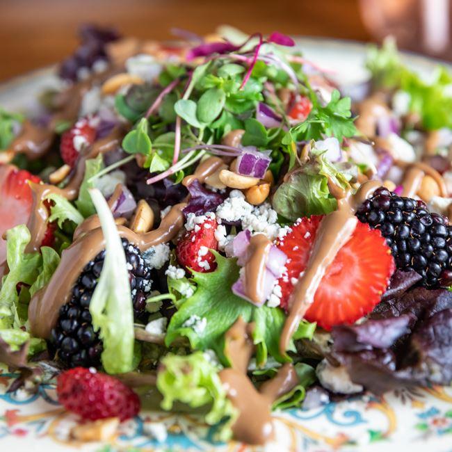 Berry Blue Cheese Salad at Bar 430