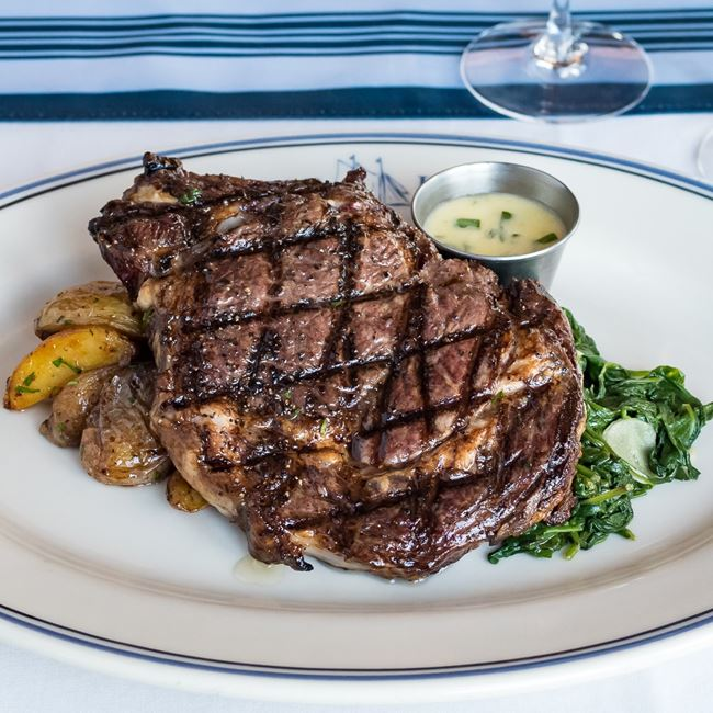 Bone In Ribeye at Harbor House