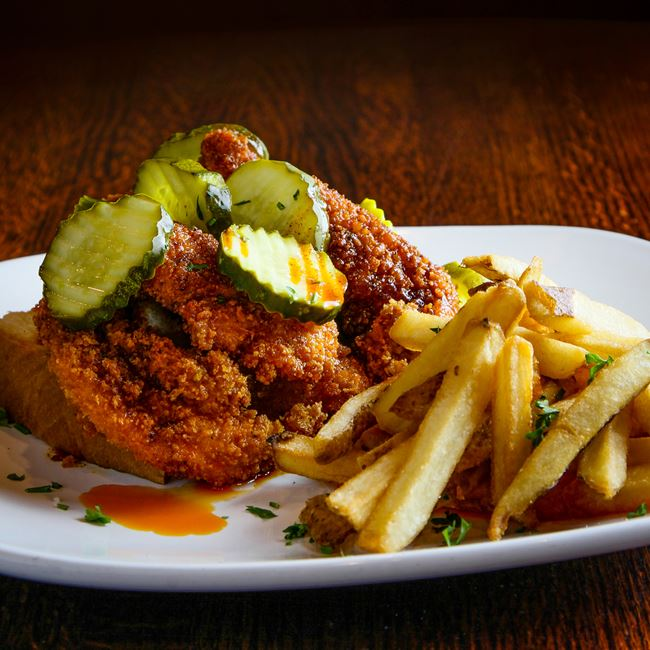 Nashville Hot Chicken at Sprecher's Restaurant & Pub