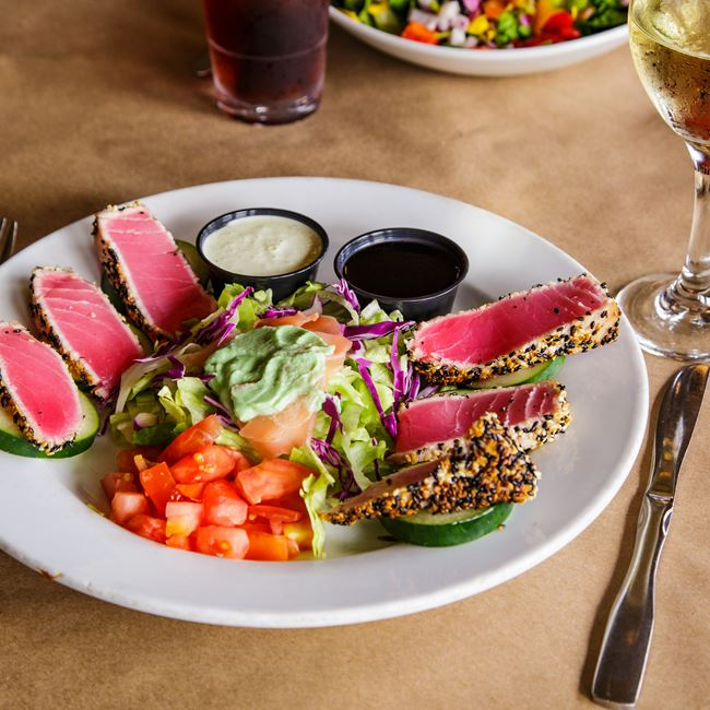 Seared Ahi at Babe's Grill & Bar