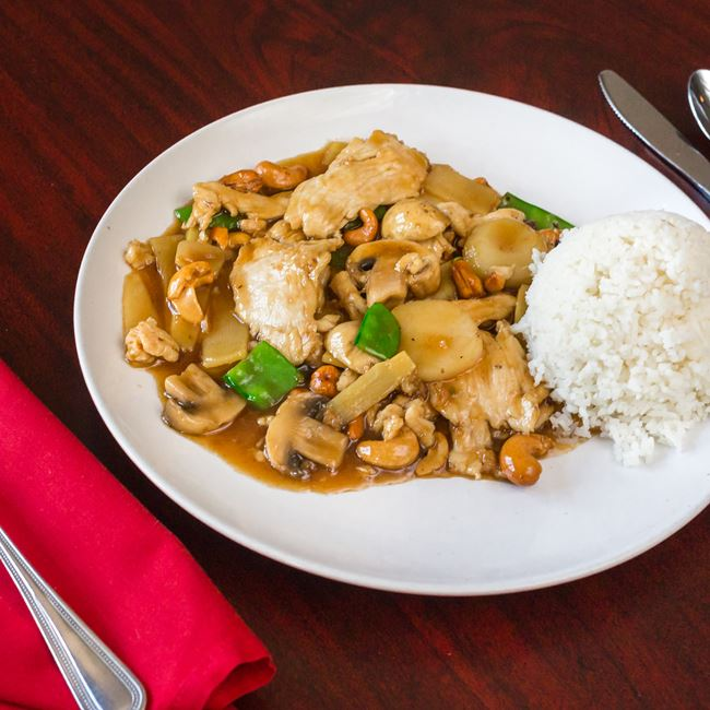 Chicken with Cashew Nuts at New Fortune Asian Cuisine