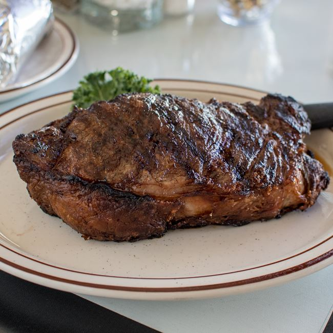 New York Strip at Connell's Club 12