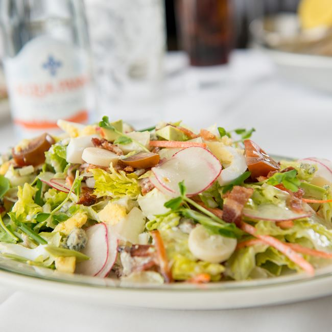 Barringer's Chopped Salad at Barringer's Restaurant