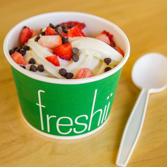 Frozen Yogurt  at Freshii
