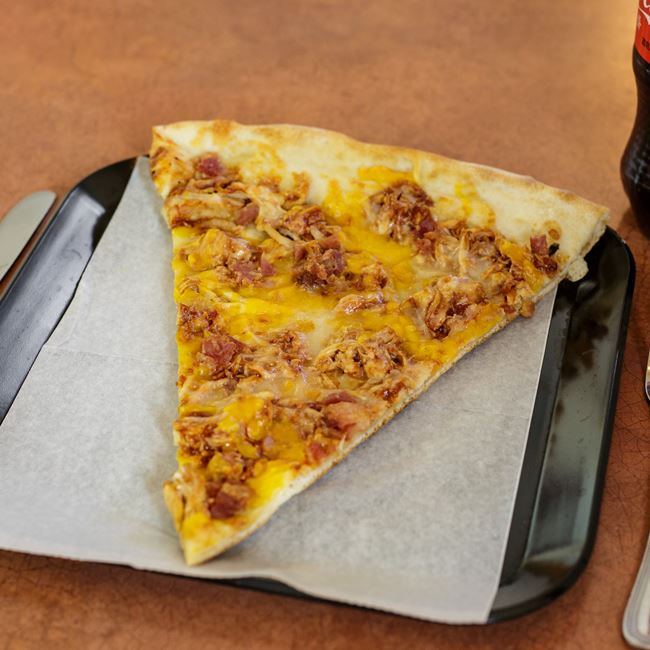 BBQ Chicken & Bacon Pizza Slice