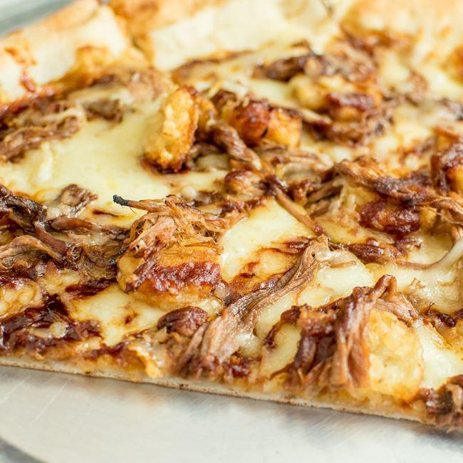 Smoked Brisket & Tots Pizza at Ian's Pizza