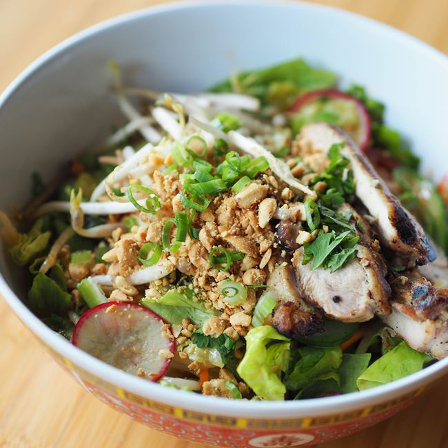 Rice Noodle Salad  at Sujeo