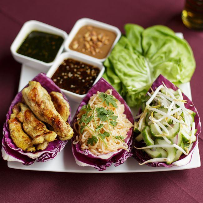 Buddha Lettuce Wraps