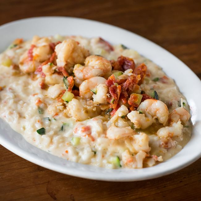 Shrimp Risotto at Quartino Ristorante
