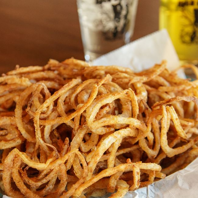 Haystack Onion Rings at Black Bear Bar