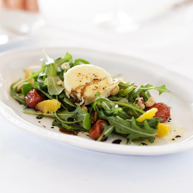 Salad de Chèvre Chaud