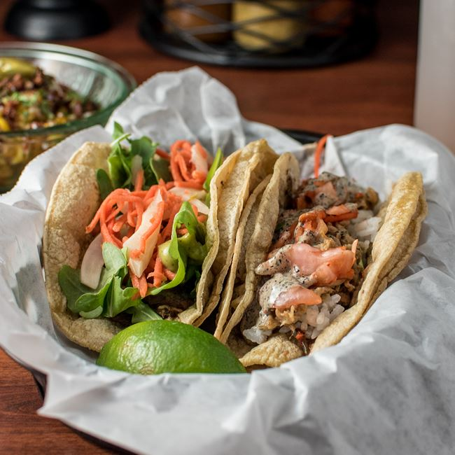 Santa Barbara and Old Boy Tacos at Ohio Tavern
