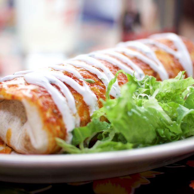 Wet Burrito at Café Corazón