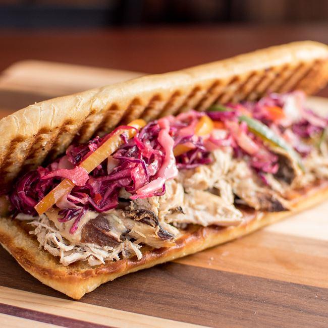 Smoked Chicken Sandwich at Brennan's Cellars