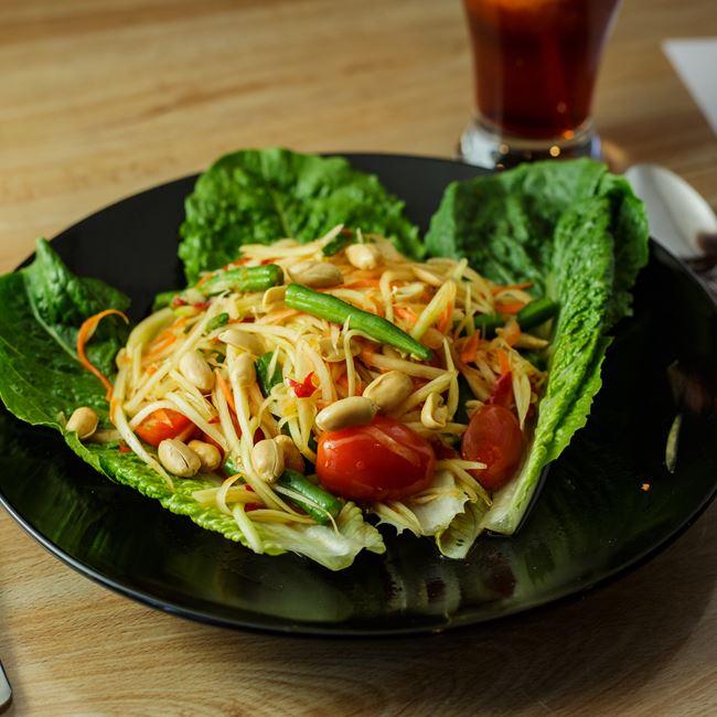 Papaya Salad at Bahn Thai