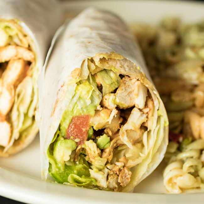 Chicken Chipotle Wrap at Judy's Kitchen