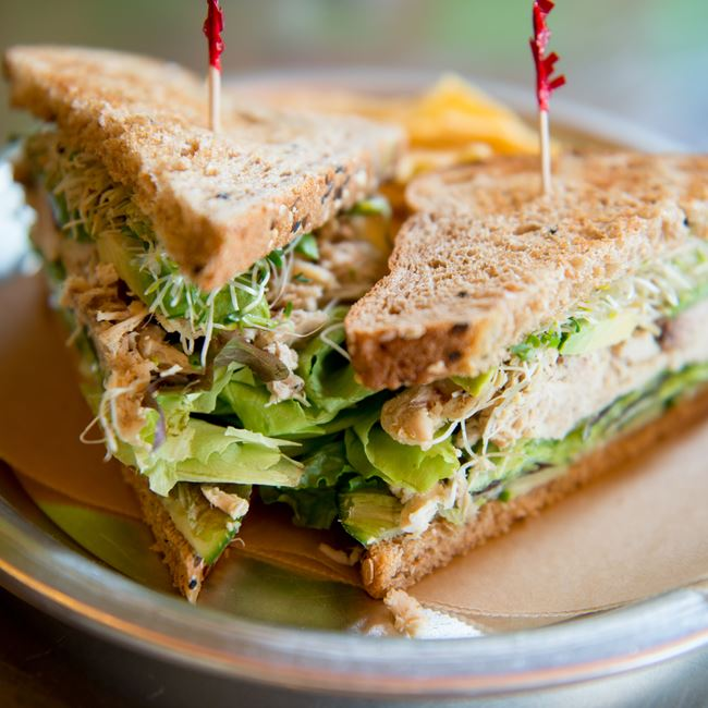 "Free Bird Sandwich at Get ""Real"" Cafe"