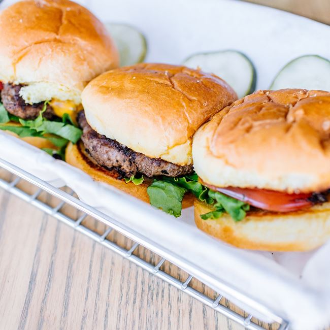 Park Burger Sliders at Park Burger