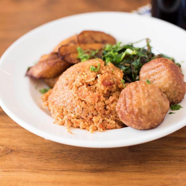 Nigeria Omelette Meal at Irie Zulu