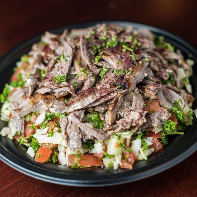 Go Healthy - Beef Shawarma at Shawarma House