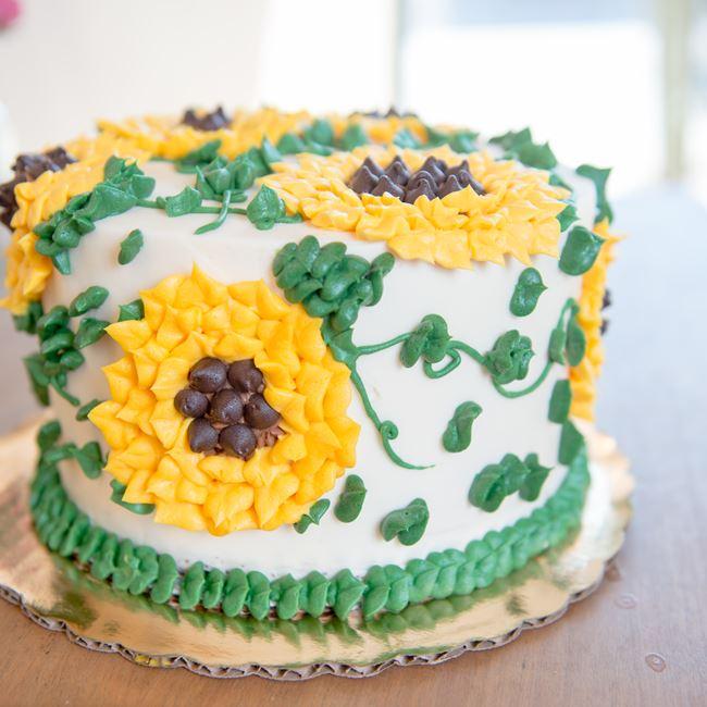 Sunflower Cake at Nutmeg Spice
