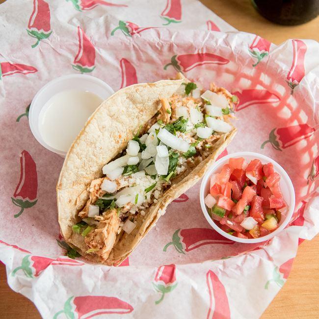 Picadillo Taco at Lupe's Taqueria