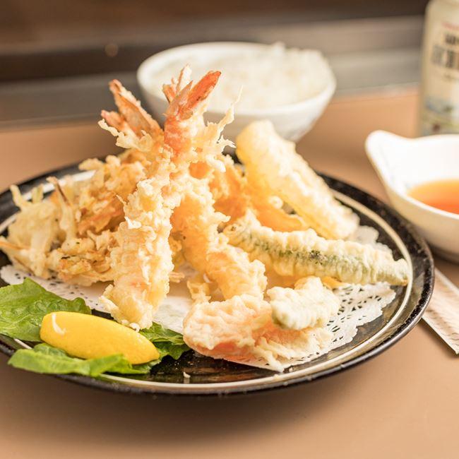 Shrimp Tempura at Tokyo Restaurant