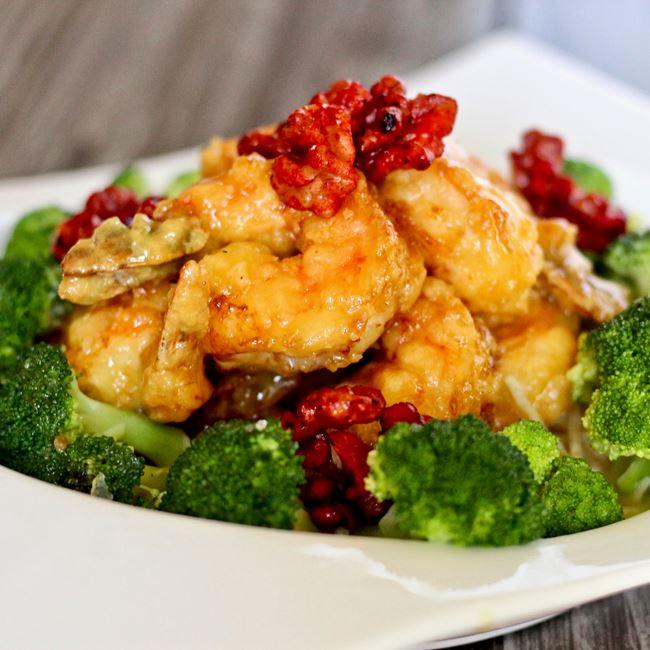 Walnut Shrimp at Little Asia