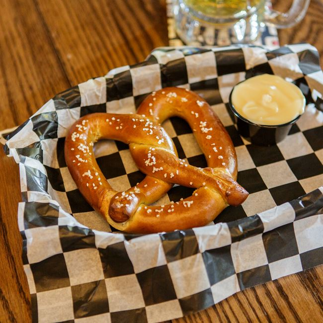 Otto's Soft Pretzel at Otto's Beer & Brat Garden