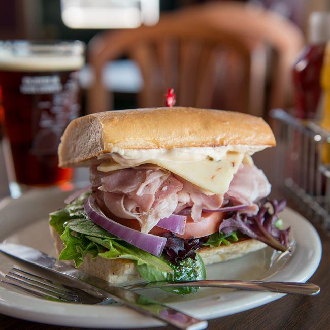 Da Bomb Sandwich at Peninsula Pub