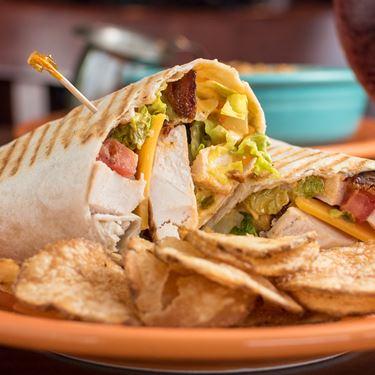 Chipotle Chicken Avocado Wrap
