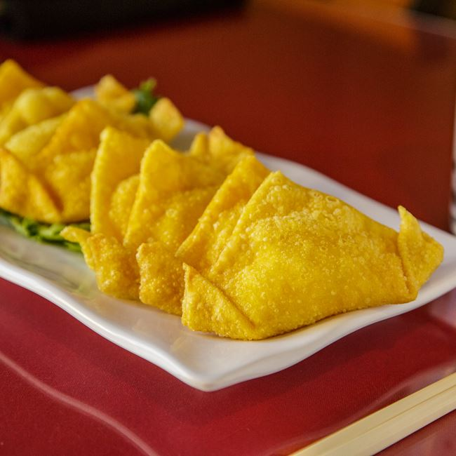 Crab Rangoon at Nam's Noodle & Karaoke Bar