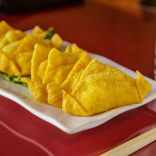 Crab Rangoon at Nam's Noodle & Karaoke Bar