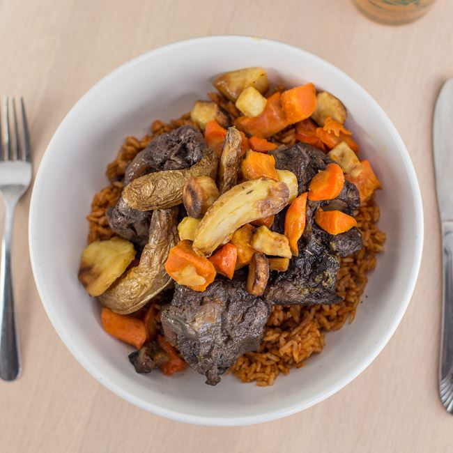 Oxtails and Red Rice at The Tandem