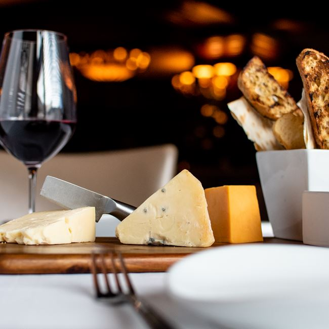 Wisconsin Cheese Plate at Milwaukee ChopHouse