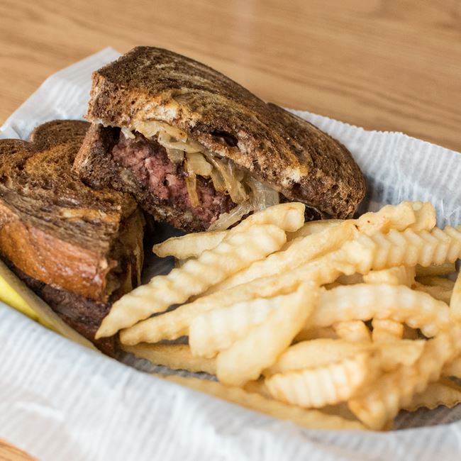 Patty Melt at Sunset Bar & Grill