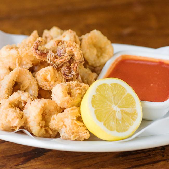 Crisp Calamari at Quartino Ristorante