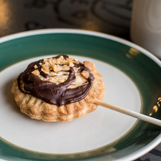 Peanut Butter and Chocolate Lollipie at Humble