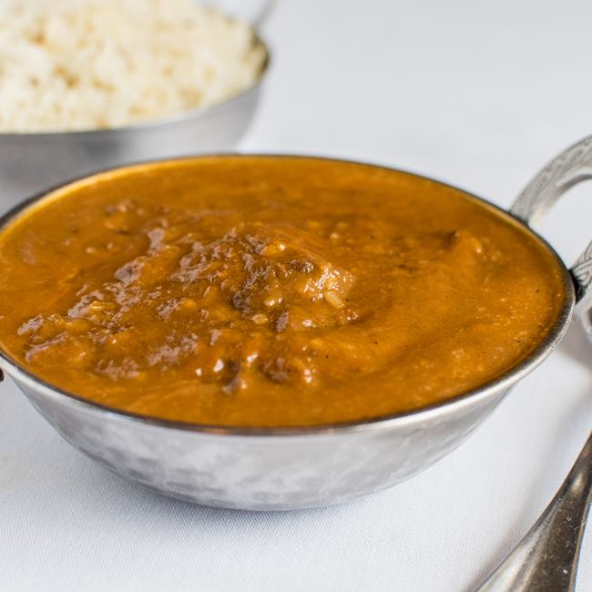 Lamb Madras at Dhaba Indian Bistro