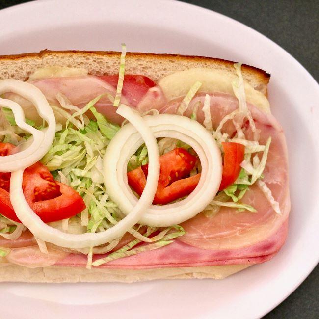 Italian Sub at Zorba's Pizza