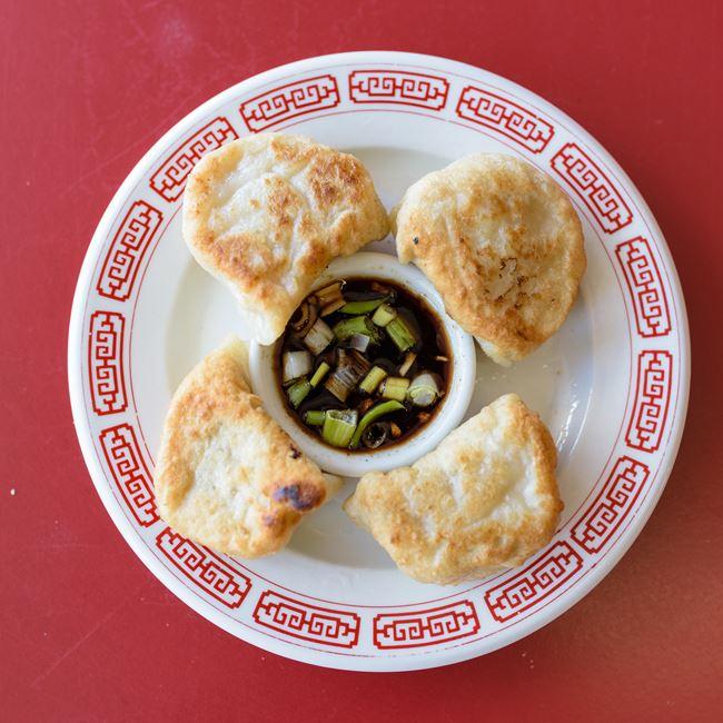 Fried Dumplings at Chan Garden