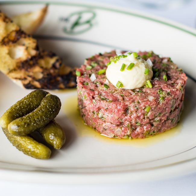 Steak Tartare at Mr. B's - A Bartolotta Steakhouse