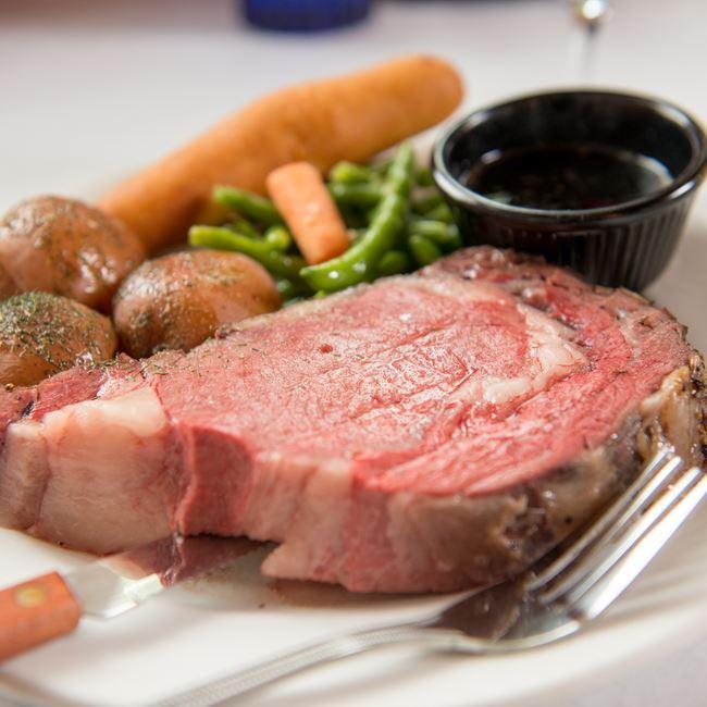 Prime Rib Dinner at Gibraltar Grill