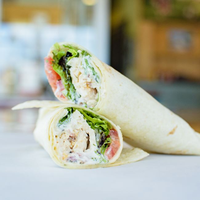 Chicken Bacon Ranch Wrap at Out & Out