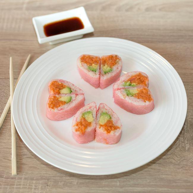 Hot Girl Roll at Sushi Express