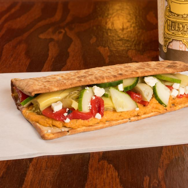 Mediterranean Sandwich at Potbelly Sandwich Shop