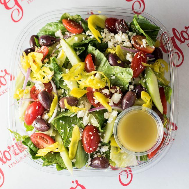 Greek Salad at Glorioso's Italian Market